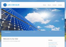 solarvillagetexas.com