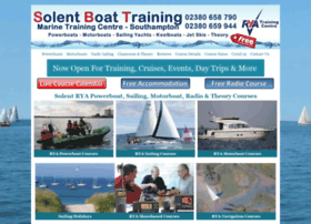 solentboattraining.co.uk