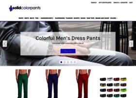 solidcolorpants.com