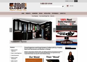 solidwoodclosets.com