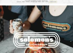 solomonsdelicatessen.com