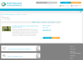 solothurn-stadt.kostenlosekleinanzeigen.ch