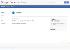 solrnet.googlecode.com