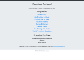 solutionsecond.com