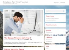 solutionsfortimefreedom.com