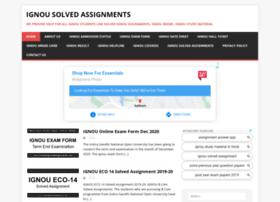 solvedignouassignments.com