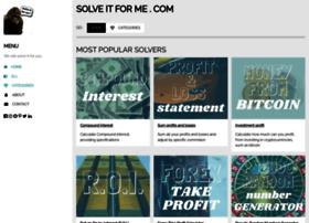 solveitforme.com