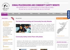 somalipeacebuilding.org
