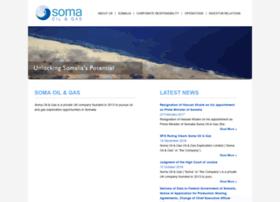 somaoilandgas.com