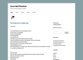 somebadplankton.wordpress.com