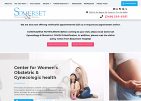somersetgynecologyobstetrics.com