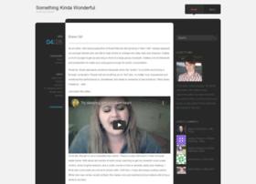 somethingkindawonderful.wordpress.com