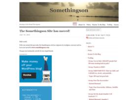 somethingson.wordpress.com