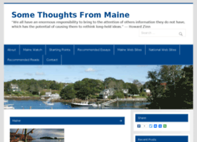 somethoughtsfrommaine.com