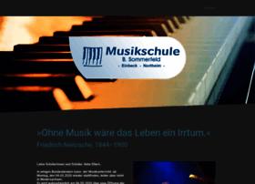 sommerfeld-musikschule.de