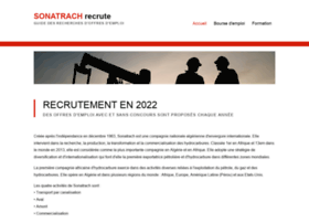sonatrach-recrute.com