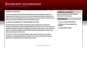 sonatrach-recrutement.city-dz.com