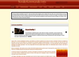 sonderkommando.info