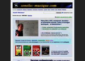 sonelec-musique.com