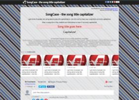 songcase.com