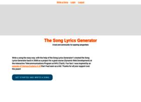songlyricsgenerator.com