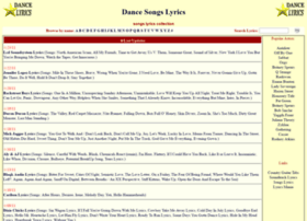 songs.dance-lyrics.com