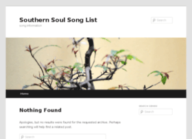songs.southernsoul.com
