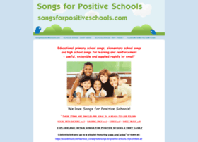 songsforpositiveschools.com