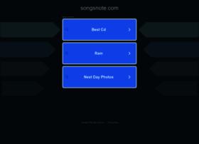 songsnote.com