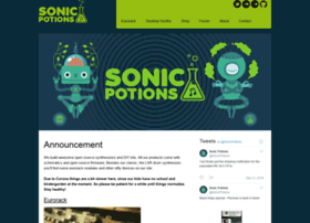 sonic-potions.com