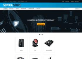 sonicastore.com