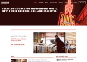 sonicboomrecords.com
