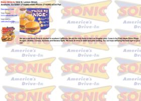 sonicburger.com
