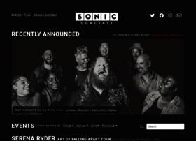 sonicconcerts.com