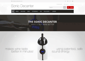 sonicdecanter.com