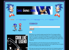 sonicgamessonic.com