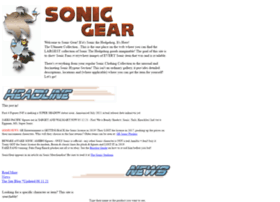 Sonic Gear Ultimate Photo Gallery of Sonic the Hedgehog Items