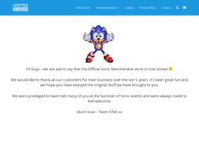 sonicmerchandise.com