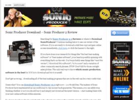 sonicproducerdownload.com