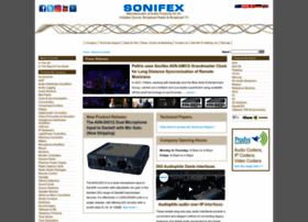 sonifex.co.uk