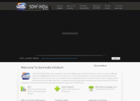 soniindiainfotech.com
