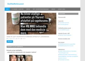 sonjas-stoffskifteforum.info