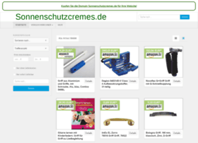 sonnenschutzcremes.de