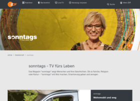 sonntags.zdf.de