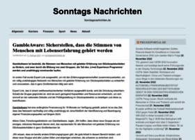sonntagsnachrichten.de