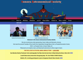 sonoraastronomicalsociety.org