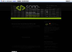 sonotechnique.blogspot.ca