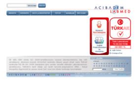 sonuc.acibademlabmed.com.tr