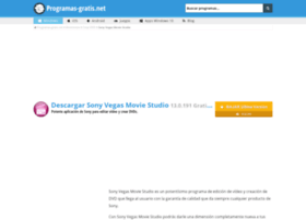 sony-vegas-movie-studio.programas-gratis.net