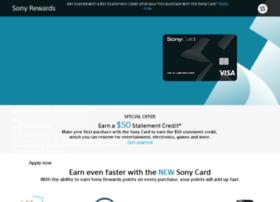sonycard.com